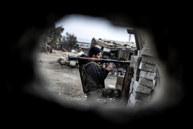 Borbe na granici Sirije i Turske
