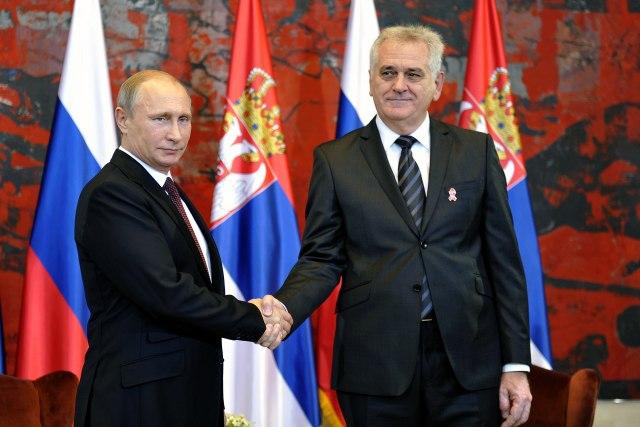 Nikolić: Putinu Orden Republike Srbije na visokoj ogrlici