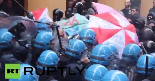Protesti na ulicama Bolonje