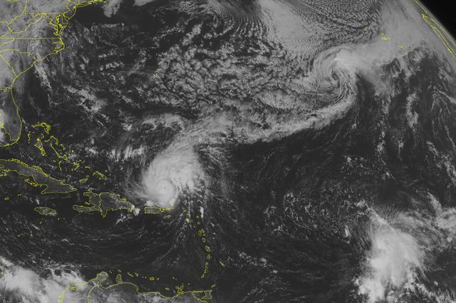 Pojačava se uragan iznad Atlantika
