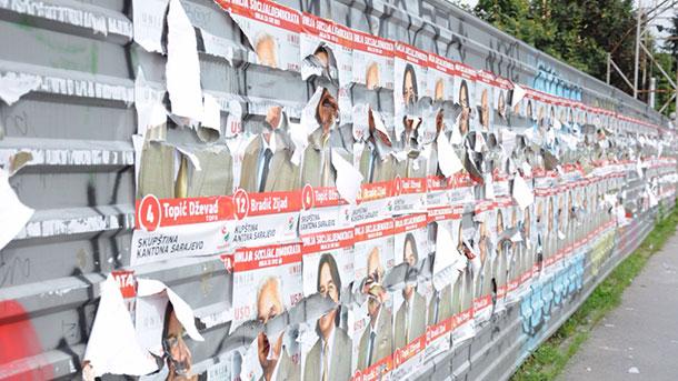 Stranke su dužne ukloniti svoje plakate
