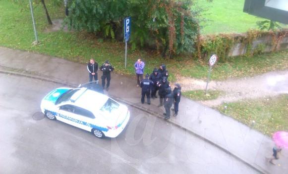 Policijska potjera u centru Banjaluke