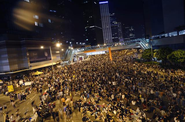 Nastavljeni protesti u Hongkongu, 11. dan