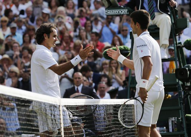 Đoković-Federer: Statistika pred meč u 14 časova