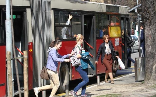 30 odsto manje putnika u javnom gradskom prevozu