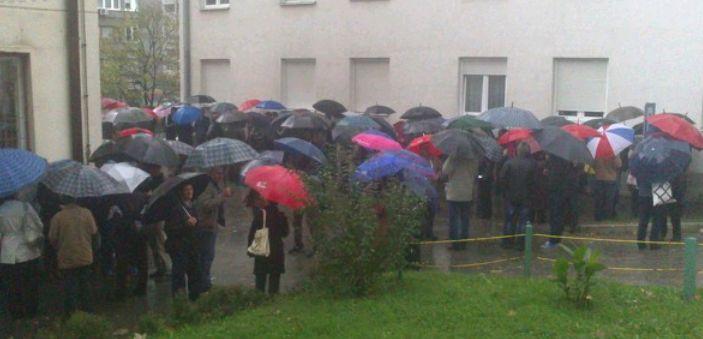 Protesti u Tuzli: Radnici traže ostavku kompletne Vlade
