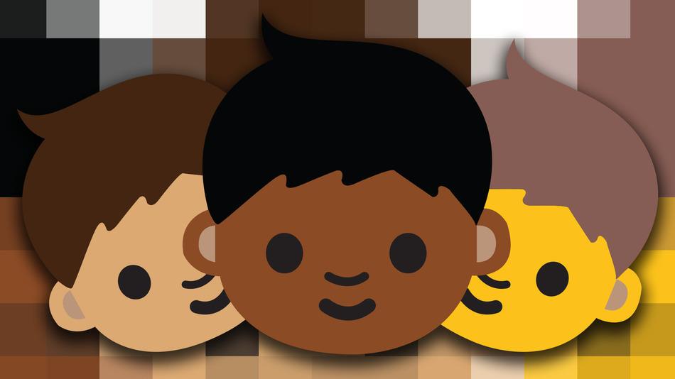 Smajliji postaju rasno raznovrsni