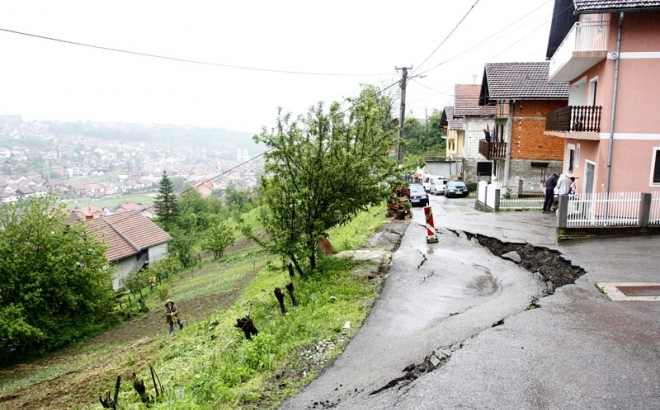 Banjaluka: Počela sanacija sedam klizišta