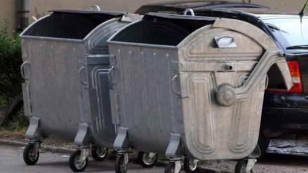 Oštećen kontejner na Starčevici
