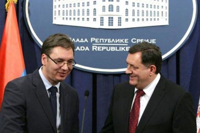 Vučić i Dodik: Rezolucija Evropskog parlamenta o Šešelju ne doprinosi saradnji u regionu
