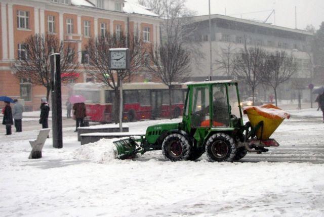 Zimska služba u Banjaluci spremna za početak rada