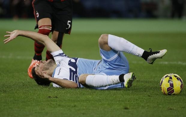 Serija A: Teška povreda Đorđevića u trijumfu Lacija protiv Milana
