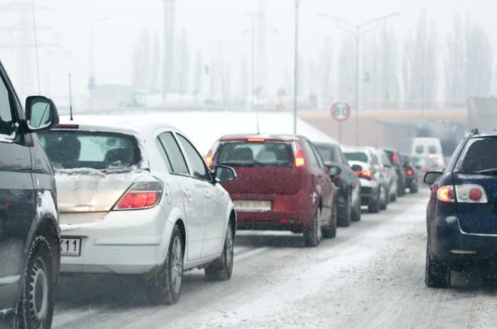 Klizavi kolovozi na većini puteva Srpske
