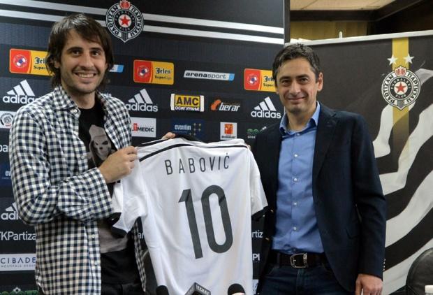 Babović: Nisam prešao u komšijski klub, čekao sam Partizan