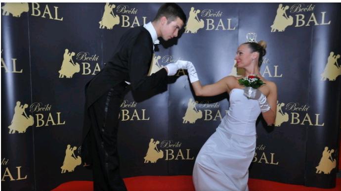 Banjalučki plesači na Bečkom balu u gradu na Vrbasu