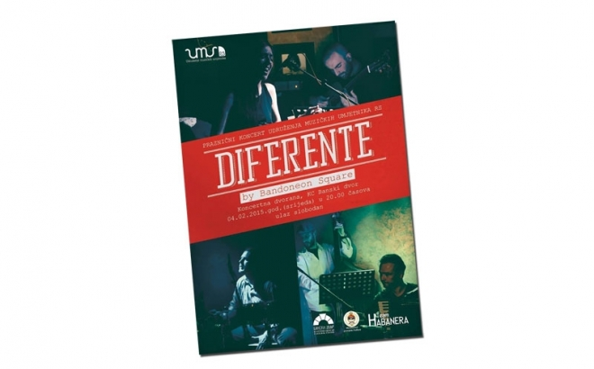 Diferente by Bandoneon square: Praznični koncert Udruženja muzičkih umjetnika RS