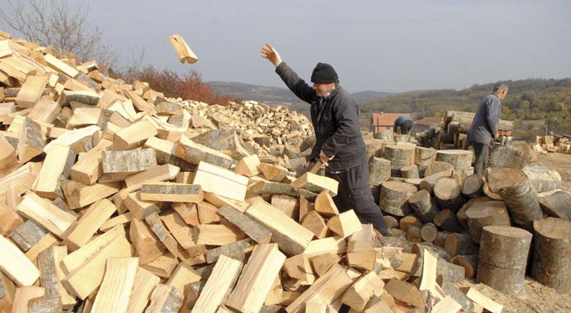 Cvjeta prodaja drva,  šporeta i grijalica