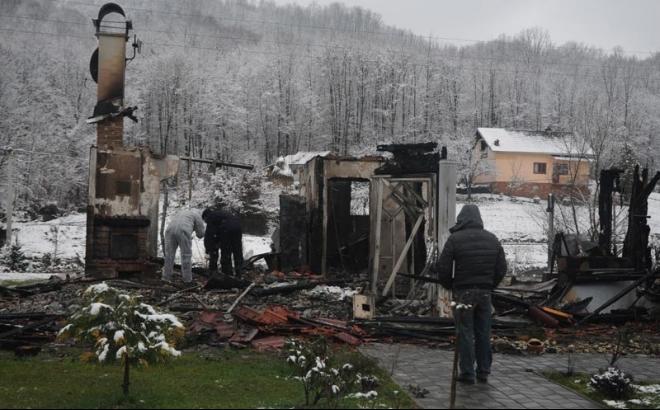 U Jošavci izgorjela kuća, šteta veća od 300 hiljada KM