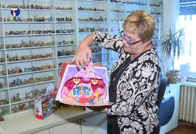 Beograđanka za 30 godina nakupila 11.000 igračaka iz Kinder jaja