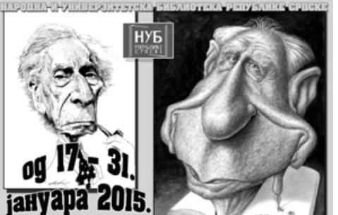 Izložba karikatura u NUBRS