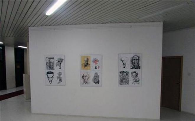 Otvorena izložba karikatura