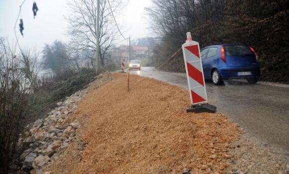 Nedavno sanirano klizište u Priječanima se aktiviralo, radovi ponovljeni