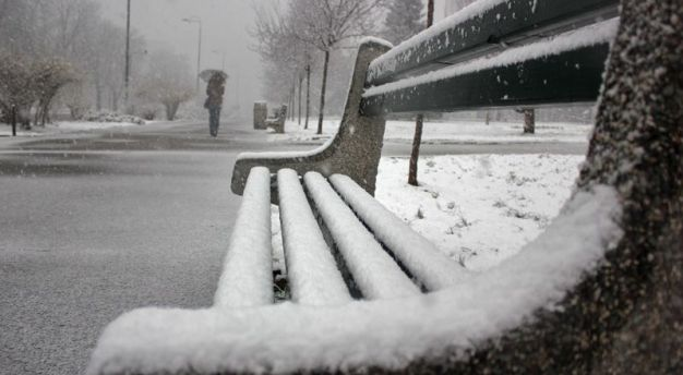 Sutra oblačno vrijeme sa snijegom