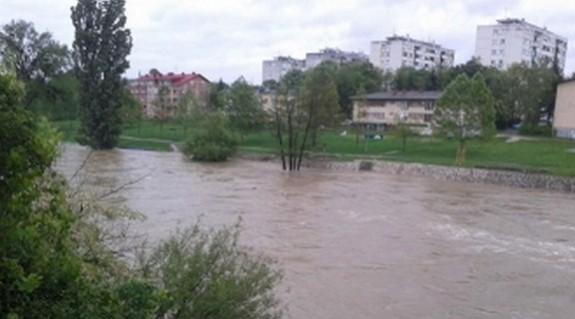 Banja Luka: Vodostaj raste, ali za sada nema opasnosti od poplave