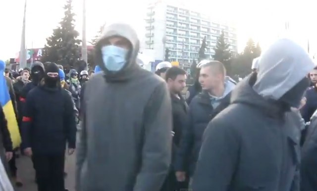 "Harkov: Bomba na maršu za ""Majdan"""