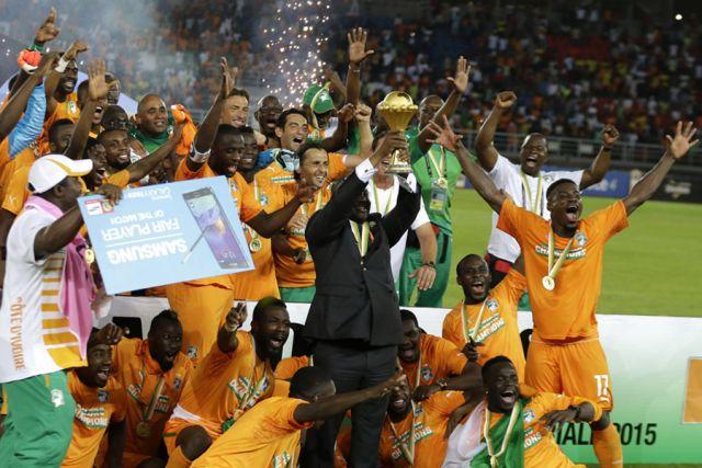 Obala Slonovače prvak Afrike