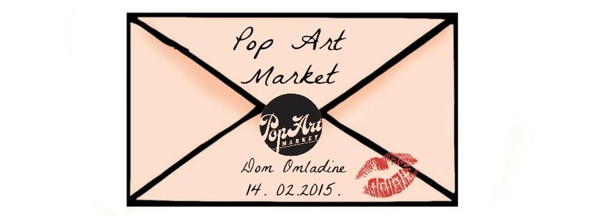 """Popart market"" danas u Domu omladine"