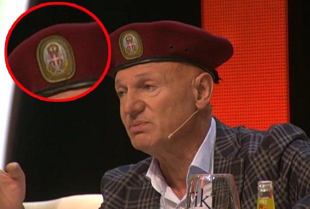 Bura bez razloga: Pjevač nije vrijeđao nikoga, u emisiji nosio regularnu beretku Vojske Srbije
