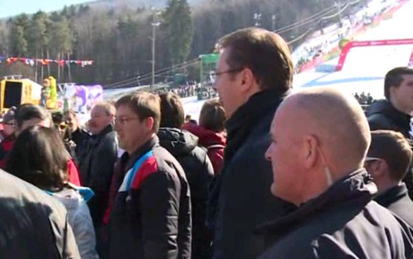 Premijeri Srbije i Slovenije na Pohorju prate skijanje