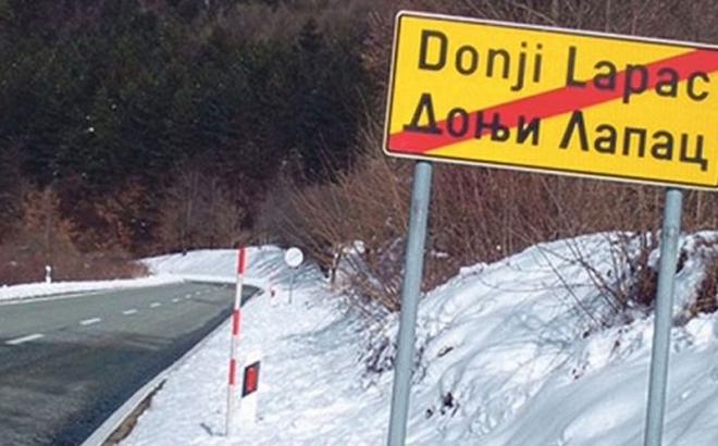Ćirilica na putnim tablama u Hrvatskoj
