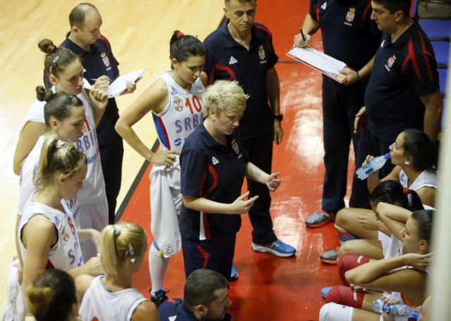 Košarkašice Srbije bolje od Hrvatske