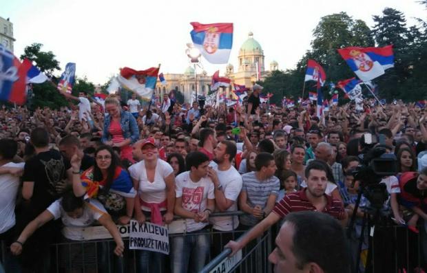 Srbija dočekala svjetske šampione (FOTO,VIDEO)