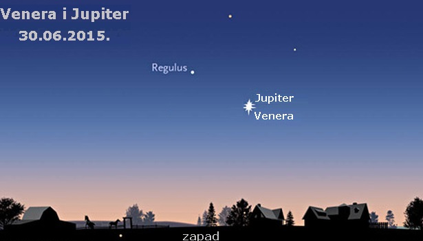 Spajanje Venere i Jupitera: Večeras pogledajte na zapad