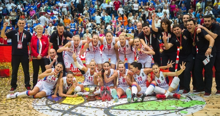 Istorija: Košarkašice Srbije na krovu Evrope!