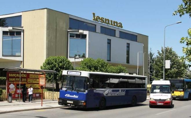 """Proširenje autobuskog stajališta """"Lesnina"""""""
