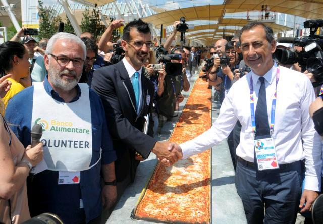 Novi svjetski rekord: Italijani napravili kilometar i po pice