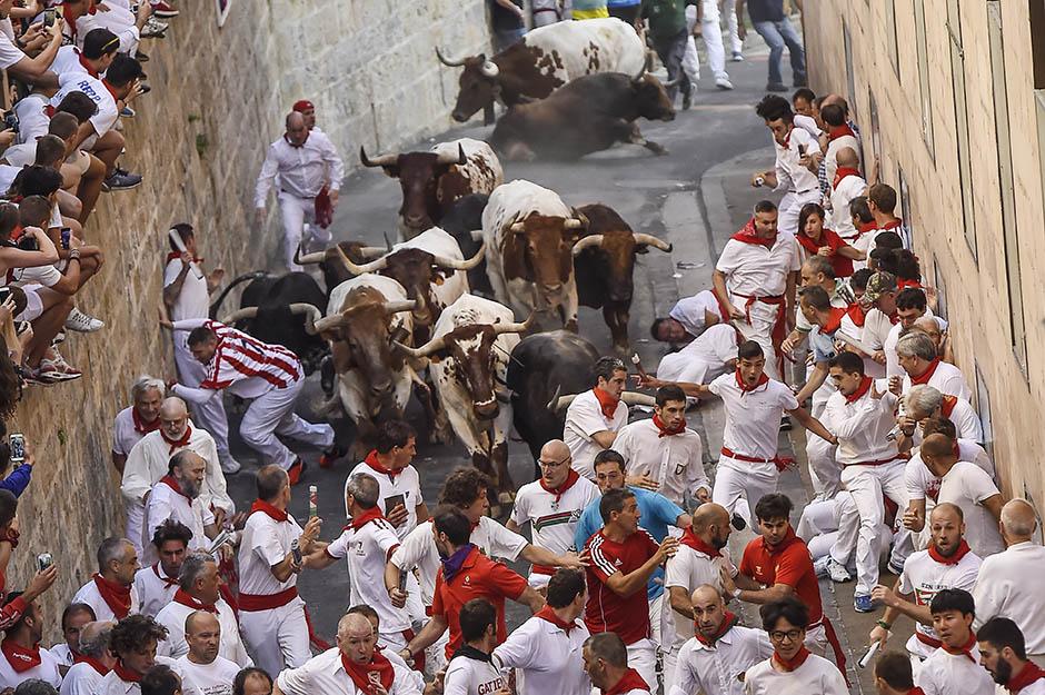 Pamplona: 3-0 za bikove