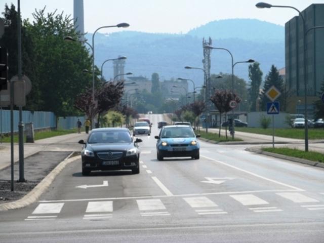 Proradila nova saobraćajna traka kod Kampusa