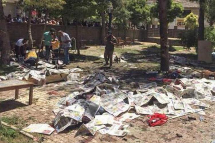 Turska: 27 osoba poginulo u terorističkom napadu