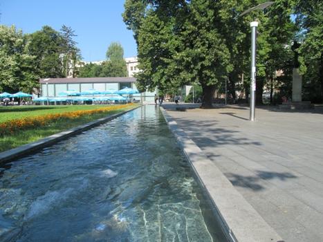 Proradila fontana u Parku Petar Kočić