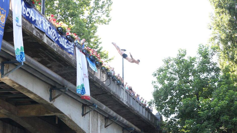 Užičanin  pobjednik u skokovima sa mosta (FOTO)