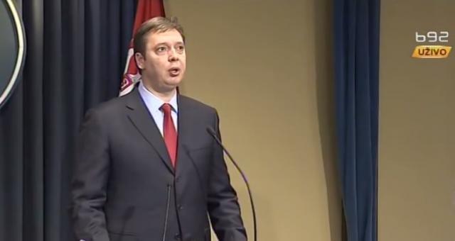 Vučić: Dobro organizovan napad, budala ima svuda