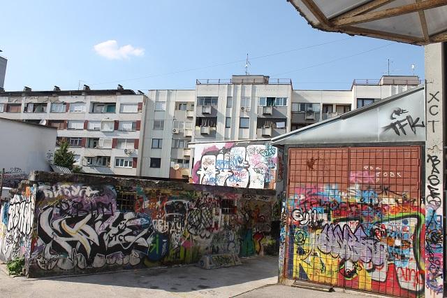 Izgubljeni dijelovi grada: Festival boja – bašta Kina Kozara (FOTO)