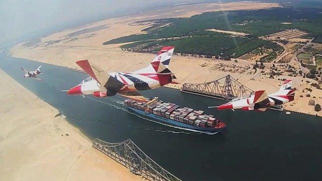Svečano otvaranje novog Sueckog kanala