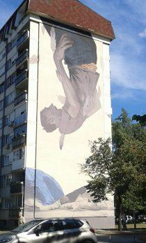 Završen novi mural u banjalučkom naselju Borik u pripremi novi. (Foto)
