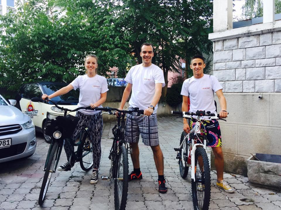 Kontaktovci na biciklima
